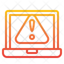 Laptop Warning Laptop Warning Icon