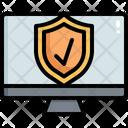 Laptop Warning Icon