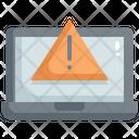 Laptop Warning Laptop Alert Hardware Warning Icon