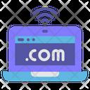 Laptop Website Icon