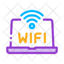 Wifi Sign Word Icon