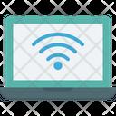 Internet Laptop Wifi Icon