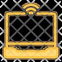 Laptop Camera Wifi Icon
