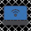 Laptop Wifi Wifi Internet Icon