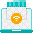 Laptop Wifi Connection Connection Store Icon