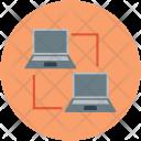 Laptops Notebooks Server Icon