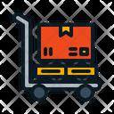 Large Box Cart Icon