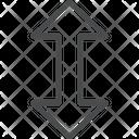 Expand Arrows Vertical Arrow Icon