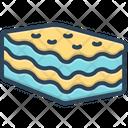 Lasagna Cheese Tasty Icon