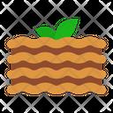 Lasagna Food Pasta Icon