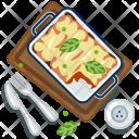 Lasagne Pasta Italy Icon