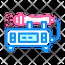 Laser Equipment Color Icon