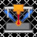 Laser Engineering Net Shape Icon