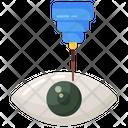 Laser Eye Surgery Eye Surgery Eye Laser Icon