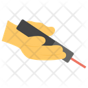 Laser In Hand Icon