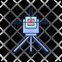 Laser Line Level Icon