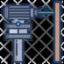 Laser Measurement Icon