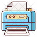 Laser Printer Printing Machine Photocopier Icon