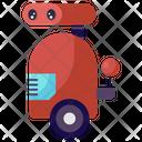 Laser Robot Industrial Machine Evil Laser Icon