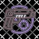 Laser Tag Laser Gun Gun Icon