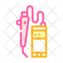 Laser Therapy Color Icon