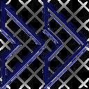 Last Arrow Chevron Icon