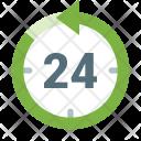 Last 24 Hour Icon