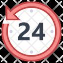 Last 24 hours Icon