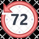 Last 72 hours Icon