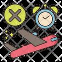 Last Minute Cancellation Cancellation Delete Travel Icon