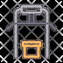 Latpull Gym Machine Icon