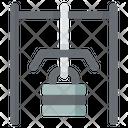 Lat Pulldown Machine Icon