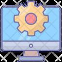 Latency Monitor Gear Icon