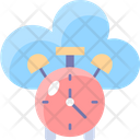 Latency Data Time Icon
