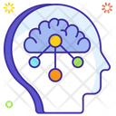 Lateral Thinking Logical Thinking Creative Thinking Icon