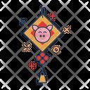 Chinese Lantern Traditional Icon