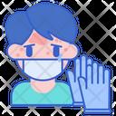 Latex Allergy Allergy Gloves Icon