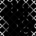 Latex Glove Icon
