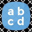 Latin Lowercase Icon