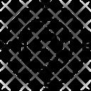 Latitude Parallel Angle Icon