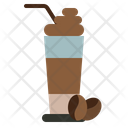 Latte Coffee Ice Icon