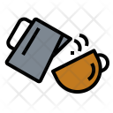 Latte Art Coffee Icon