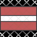 Latvia Icon