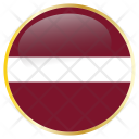 Latvia Latvian Europe Icon