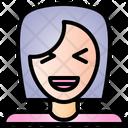 Laugh Feeling Face Icon