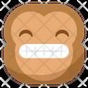 Laugh Cringe Monkey Icon