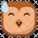 Laugh Drop Owl Icon