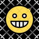 Laugh Fun Grinning Icon