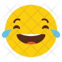 Laugh Emotion Smile Icon