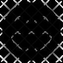 Laugh Emoticon Icon